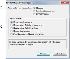 Ebenen/Klassen-Manager